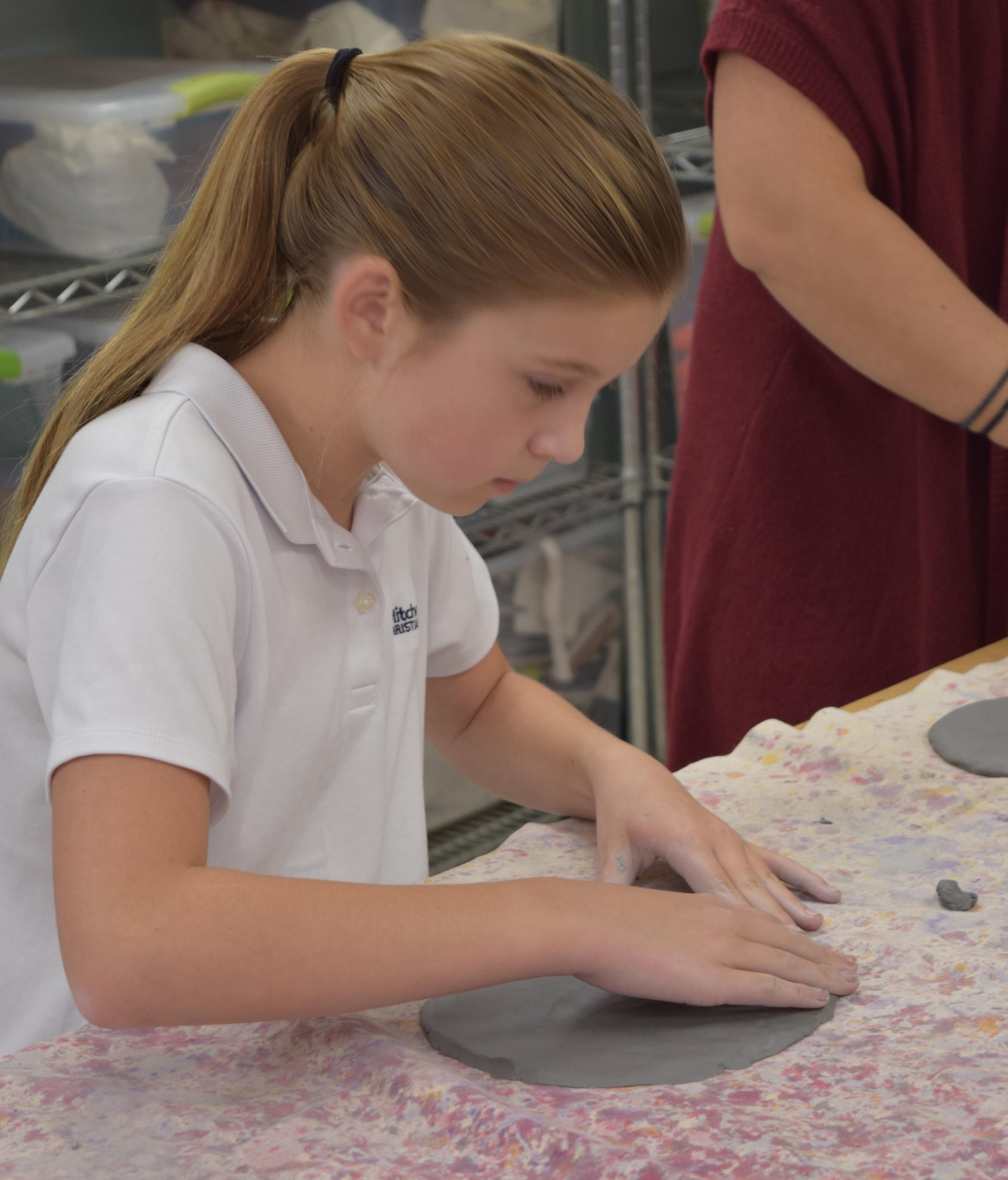 Private school art program